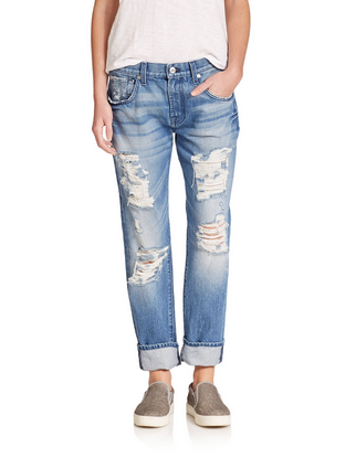 7 For All Mankind Relaxed Skinny Jean - RGV2