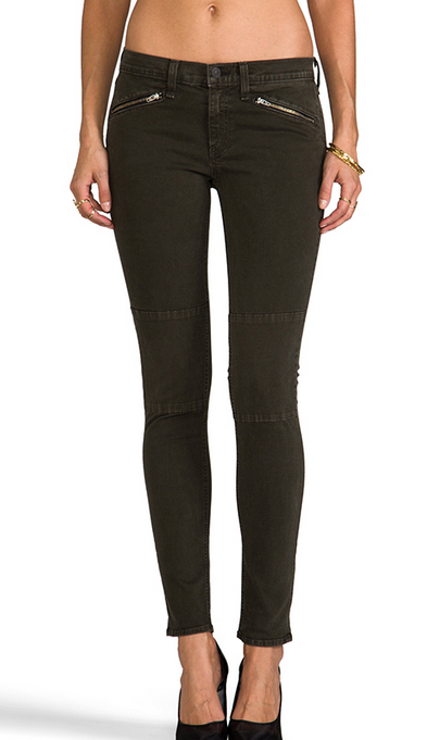 Rag & Bone Ridley Moto Jean - wax black