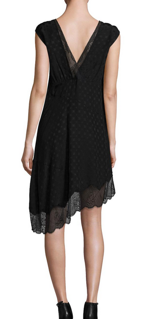 Zadig & Voltaire Root Deluxe Coeur Dress - black