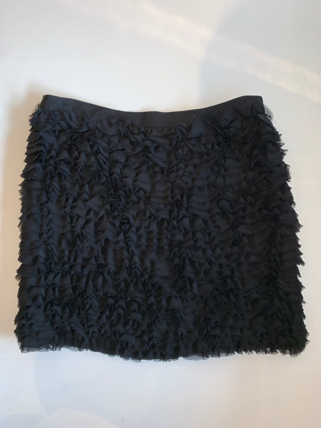 Michael Kors Ruffle Skirt - black