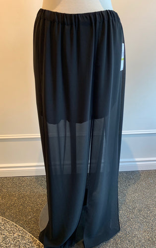 Michael Kors Slit Long Skirt - black