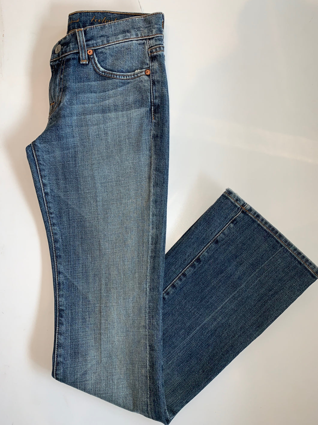 7 For All Mankind Stitch Bootcut Jean - MNE