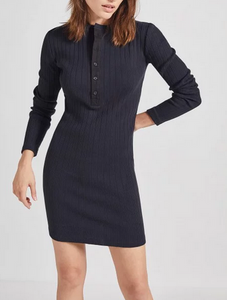 Current/Elliott The Heather Dress - black