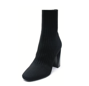 Kendall & Kylie Tina Sock Boot - black