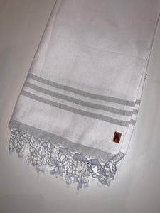 Free City Turkish Towel - white