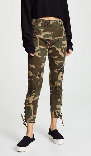 Kendall & Kylie Utility Pant - camo