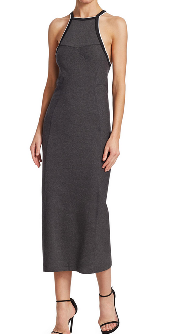 Rag & Bone Watts Long Dress - heather grey