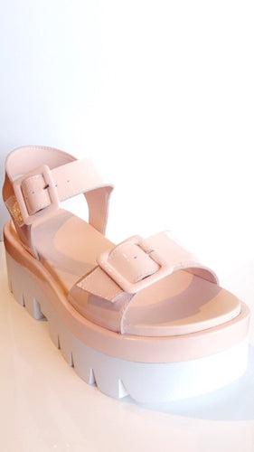 Kendall & Kylie Wave Sandal - light pink