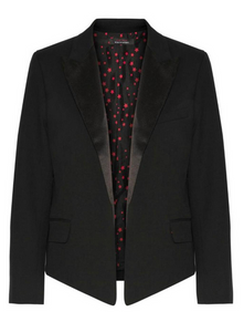 Equipment Wynn Tuxedo Blazer - black