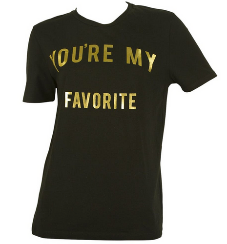 Zoe Karsen You're my Favorite t-shirt - black