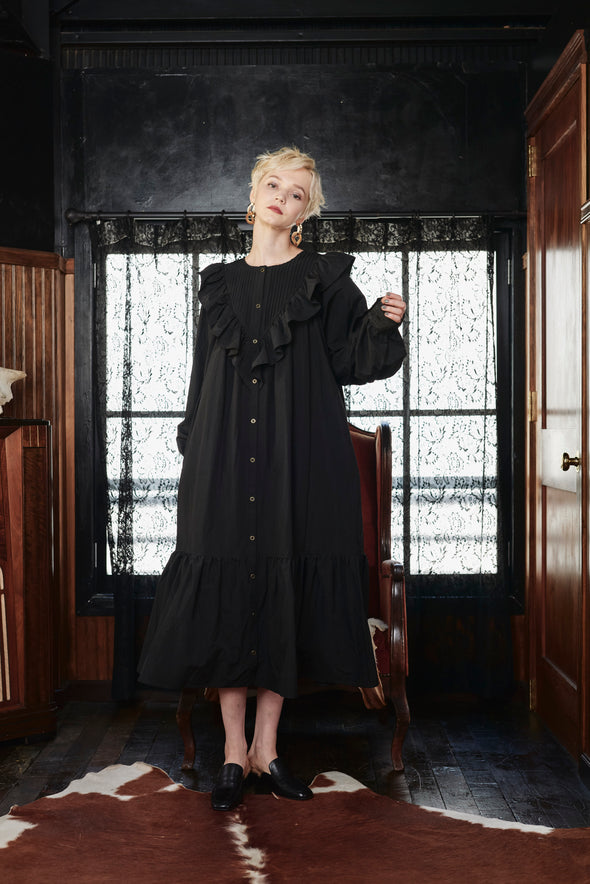 ■先行予約■GONGFU 3WAY RUFFLE DRESS