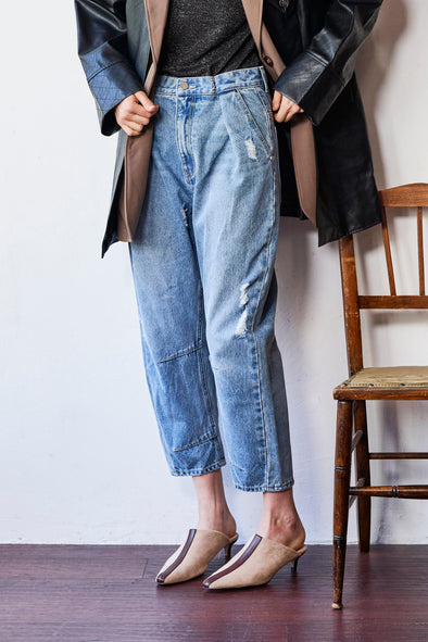 WAIST HOOK DENIM PANTS