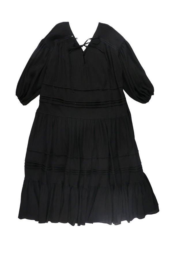 □■先行予約■□VOLUME SLEEVE DRESS