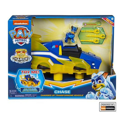Paw Patrol Chase charged up deluxe køretøj
