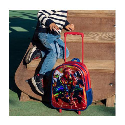 Spiderman 3D Reisekoffert m. Hjul 26x31x10 cm