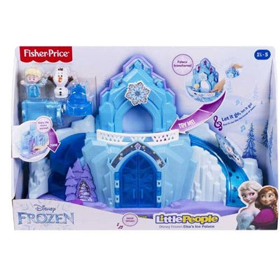 Fisher Price Disney Frost slott Lekesett inkl. figurer