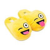 Smiley Slippers Gul Tøfler til Barn