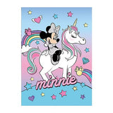 Disney Minnie Mouse unicorn fleecetæppe 100x140 cm