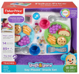 Fisher Price Laugh & Learn gode manere-snacksæt