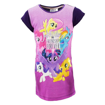 My Little Pony Kjole T-shirt Lilla 3-8 år