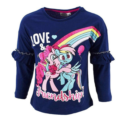My Little pony navy glitter longsleeve