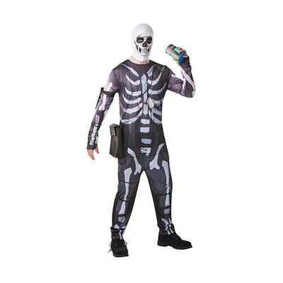 Fortnite Skeleton kostume