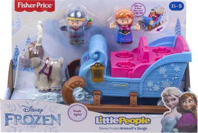 Little People Frost Slede med 3 Figurer Lys/Lyd