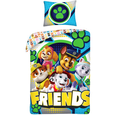 "Paw Patrol Junior Sengesett ""Friends"" 100x140 cm Sengetøy"