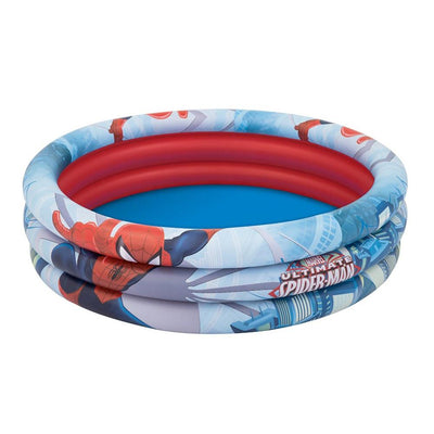 Spiderman 3-Rings Badebasseng 152x30 cm 200 liter