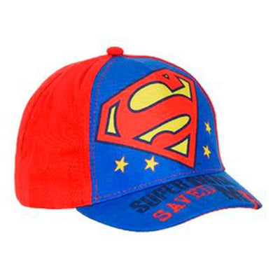 Superman Caps Rød/Blå 1/2-4 år