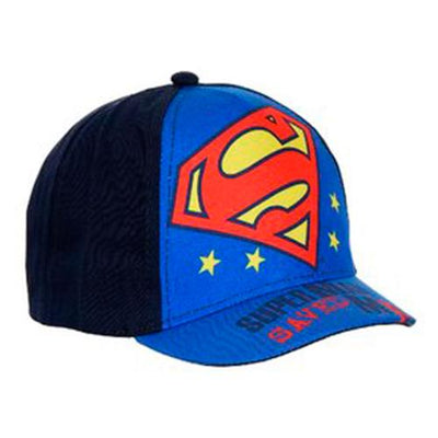 Superman Caps Svart/Blå 1/2-4 år