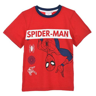 Spiderman T-Shirt & Shorts sett 3-8 år