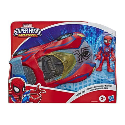 Spiderman superhero bil incl figur