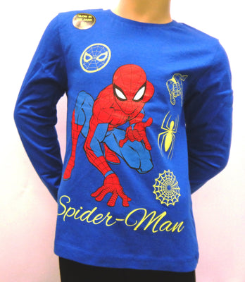 Spiderman Glow in the dark longsleeve