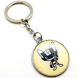 Tokyo 2020 Olympic Paralympic Games Mascot Keychain 1
