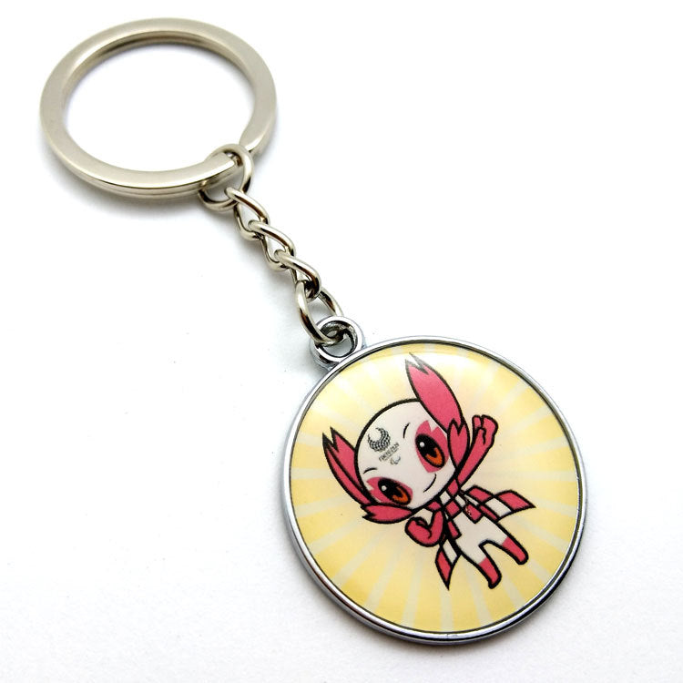 Tokyo 2020 Olympic Paralympic Games Mascot Keychain 2