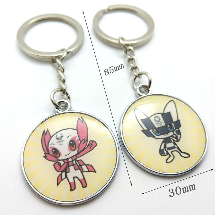 Tokyo 2020 Olympic Paralympic Games Mascot Keychain 4