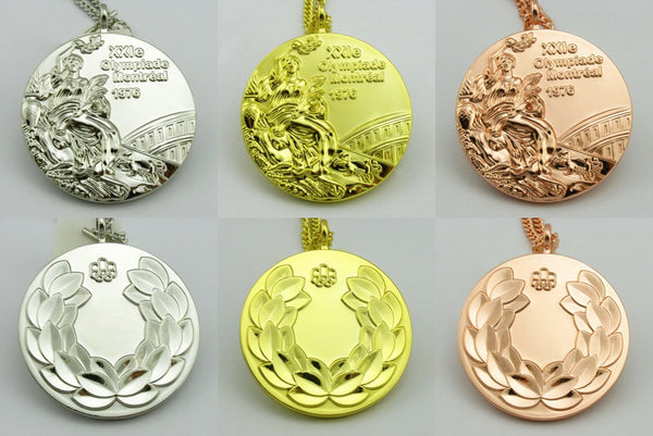 Montreal 1976 Olympic Medals Set