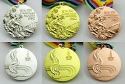 Moscow 1980 Olympic Medals Set