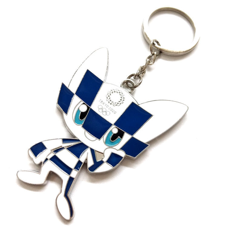 Tokyo 2020 Olympic Paralympic Games Mascot Keychain 5