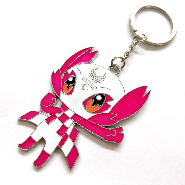 Tokyo 2020 Olympic Paralympic Games Mascot Keychain 6