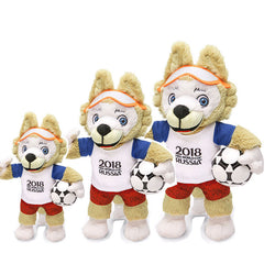 Russia 2018 World Cup Mascot Zabivaka Plush Toy 1