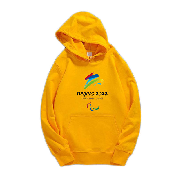 2022 Winter Olympic Games Hoodie Pullover Fleece Hooded Sweatshirt