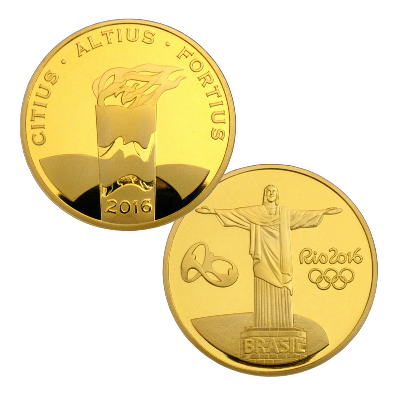 Rio 2016 Olympic Torch Coin
