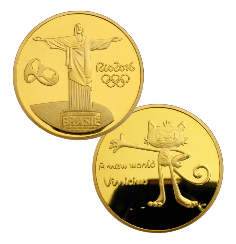 Rio 2016 Olympic Mascot Coin