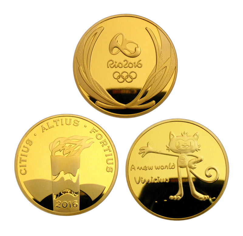 Rio 2016 Olympic Coins 1