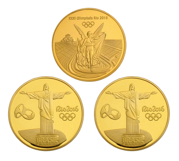 Rio 2016 Olympic Coins 2