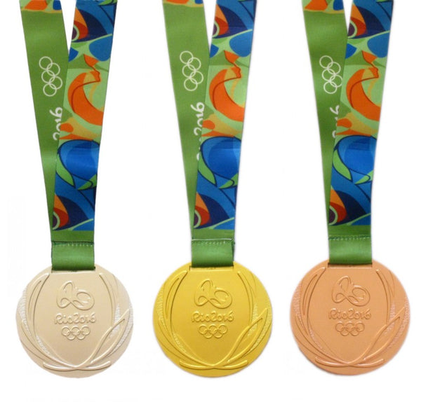 Rio 2016 Olympic Medals Set 2