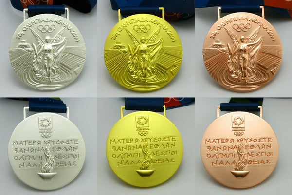 Athens 2004 Olympic Medals Set