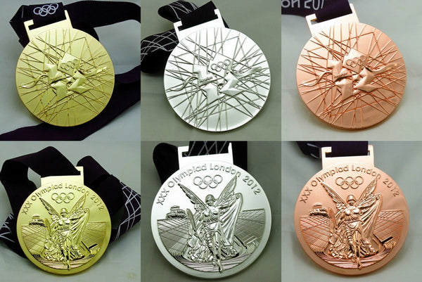 London 2012 Olympic Winners Medals Set